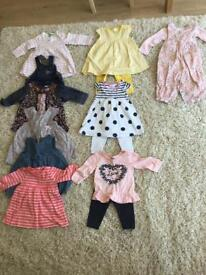 Baby girls clothes bundle, all sized 3-6 months