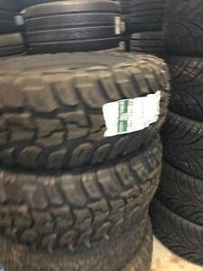 TWO NEW 33X12.50R15 KUMHO MUD TIRES -- CLEARANCE