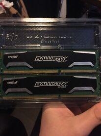 Ballistix Sport 8GB DDR3 RAM (2x4GB)