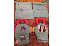 Teething gloves