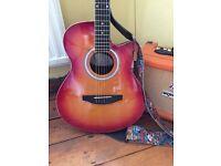 Hudson electric acoustic guitar