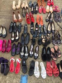 150+ mix footwear for sale