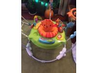 Rain forest Jumperoo Fisher Price