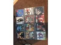 PlayStation 3 with 12 games and Disney infinity