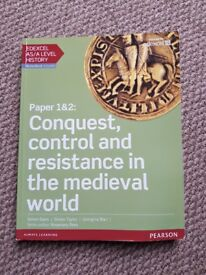 Edexcel AS/A Level History Paper 1/2: Conquest control and resistance in the medieval world textbook