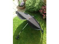 Black Mothercare UV Protection Compact Parasol