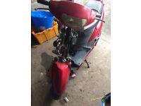 Cheap £100 running moped with long MOT