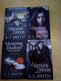 The Vampire Diaries Books 1-6 Paperback