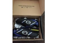 Optimum rugby boots size 5 new in box