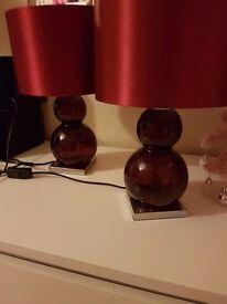 Next lamps x 2