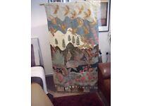 Rug ( Crewel Rug Wool ) wall hanging