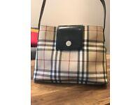 Burberry handbag. Good condition. Hardly been used