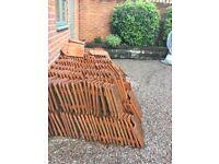 red roof pantiles Koramic Pottelberg Belgium