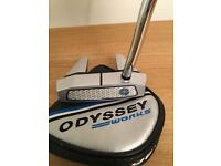 """Odyssey Works Versa 7 Tank putter Face Balanced with SuperStroke grip 35"""""""