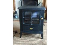 Electric Heater Woodburner Style