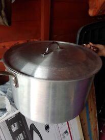 Large Kitchen Pan Aluminium
