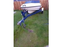 Fletcher Bravo Speed Boat with Mercury 90 engine on trailer or buy two