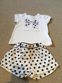Shorts & T-shirt set (18 months)