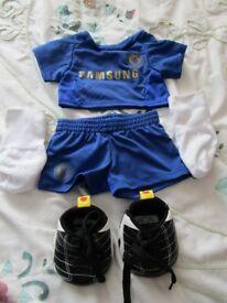 Build A Bear - Chelsea Football Outfit