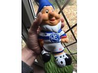 QPR Football Garden Gnome 🎨