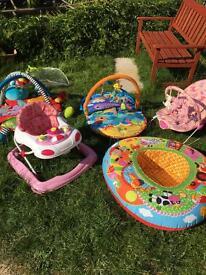 Job lot baby toys