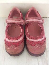 Pink girls Start-Rite shoes size 8G - RRP £27