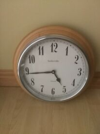 Baskerville England Analog Wall Clock