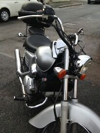 Honda shadow VT125 ,2007, 14446 miles