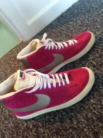 Size 7 Nike Blazer Hi Suede Vintage Trainers