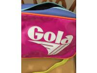 Gola multicoloured messenger bag .
