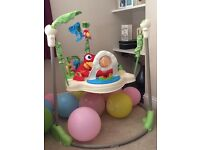 Rainforest jumperoo - fisher price