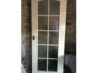 Glass Panelled Door