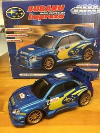 Subaru Model car 1:24 scale / remote control / car
