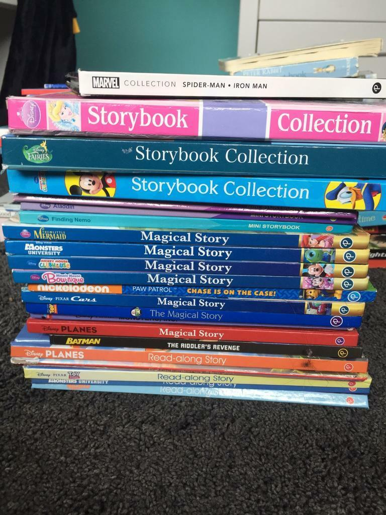 Hardback children's books