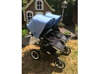 Bugaboo Donkey Duo, Double Buggy, Travel System with carry cots and seats
