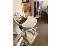 Fresco Bloom high chair