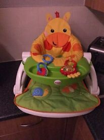 Fisher price sit me up seat great condition