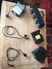 DJ lighting for sale, laser, spotlight. Party equipment