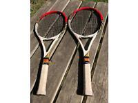 Tennis rackets Wilson