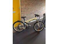 Electric folding mountain bike (new)