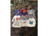 Baby bundle t-shirts / long sleeve 3-6 month boys