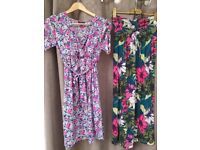 Maternity Clothes Bundle sizes 8/10 including swimming costumes