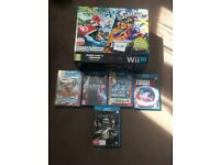 Wii u 32gb premium pack + 5 Top title games £160 quick sale
