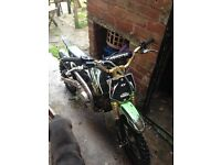 Monster 125cc pitbike