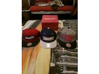3 Mitchell & Ness Snapback bundle (with authenticity stickers)