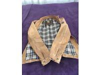 Belstaff leather ladies jacket size uk 8- 10 hardly worn