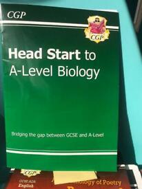 Head Start To A Level Biology CGP