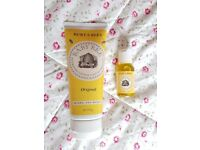 Burts Bees Nourishing Lotion and Oil