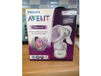 Sealed in box Philips avent manual breast pump
