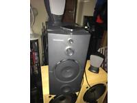 Harman kardon iPod active subwoofer and Speakers